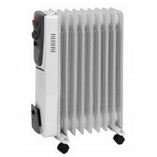 SupaWarm 2000W Oil Filled Radiator With Thermostatic Control SOFR9