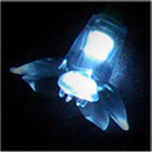 SS7622 LED Fairy Light Double Flower Attachment x 50