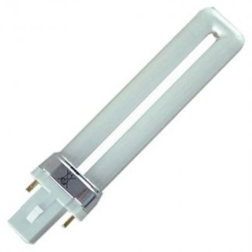 Compact Fluorescent S-2 Pin 11Watt Low Energy Fluorescent Lamp White