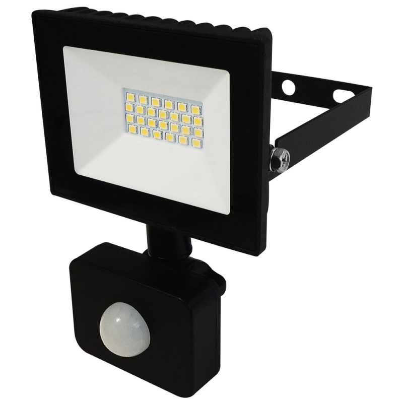 Eterna 10W IP44 LED Floodlight with PIR 4000K VECOF10PIR