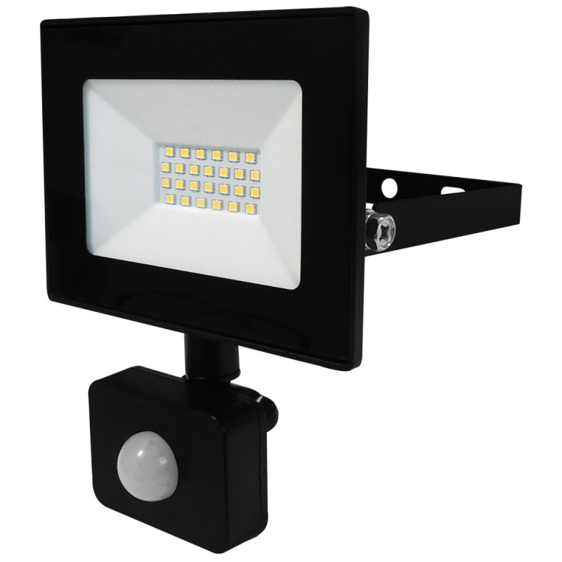 Eterna 20W IP44 LED Floodlight with PIR 4000K VECOF20PIR