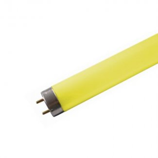 T8 Coloured Fluorescent Tube 18W Yellow