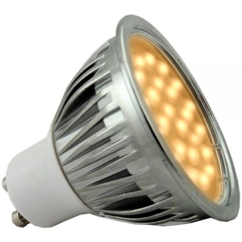 Amber LED 5W Dimmable GU10