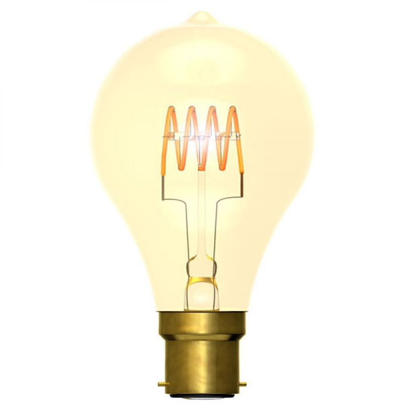 Bell 4W Dimmable Vintage Soft Coil GLS BC/B22 2000K 60016