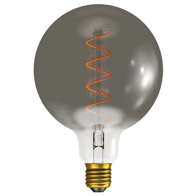 BELL 4W ES/E27 Dimmable LED Filament Gunmetal 125MM Globe 60029