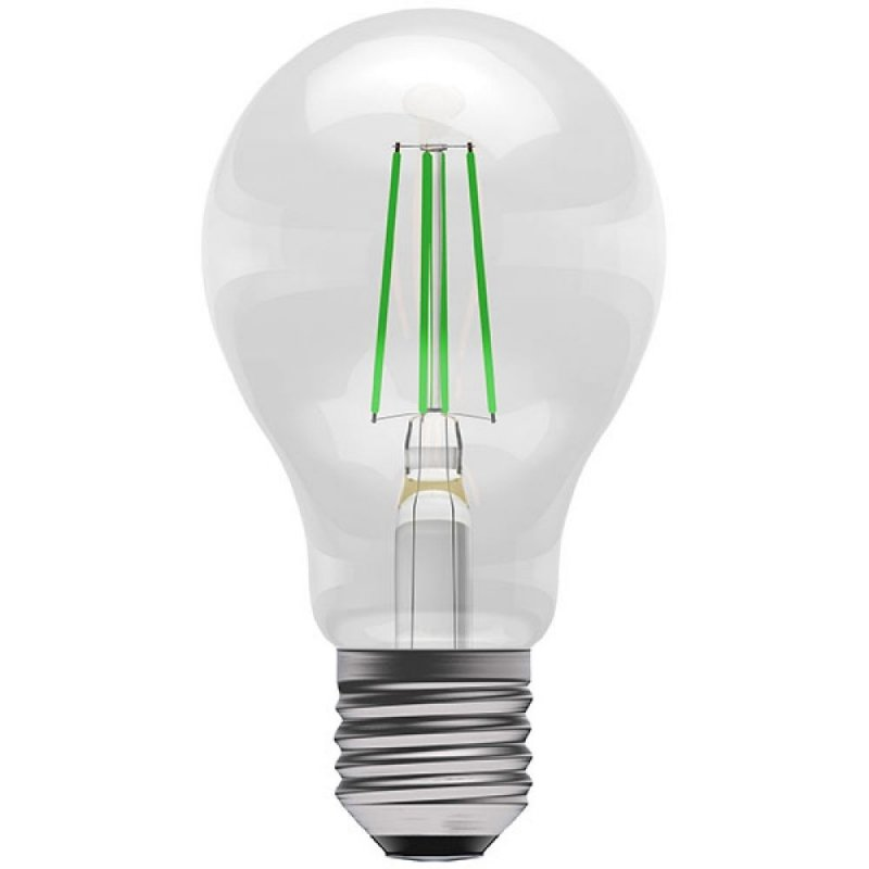 BELL 60064 4W Green Coloured LED Filament GLS ES/E27 Bulb