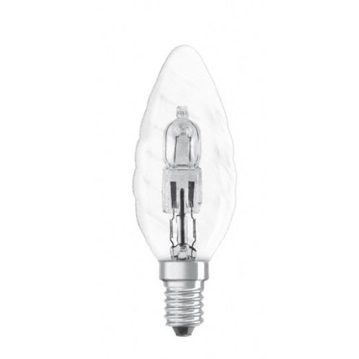 28Watt Energy Saving Twisted Halogen Candle