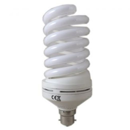 Pro Lite 55w Bc 6400k Daylight Energy Saving Spiral Light Bulb