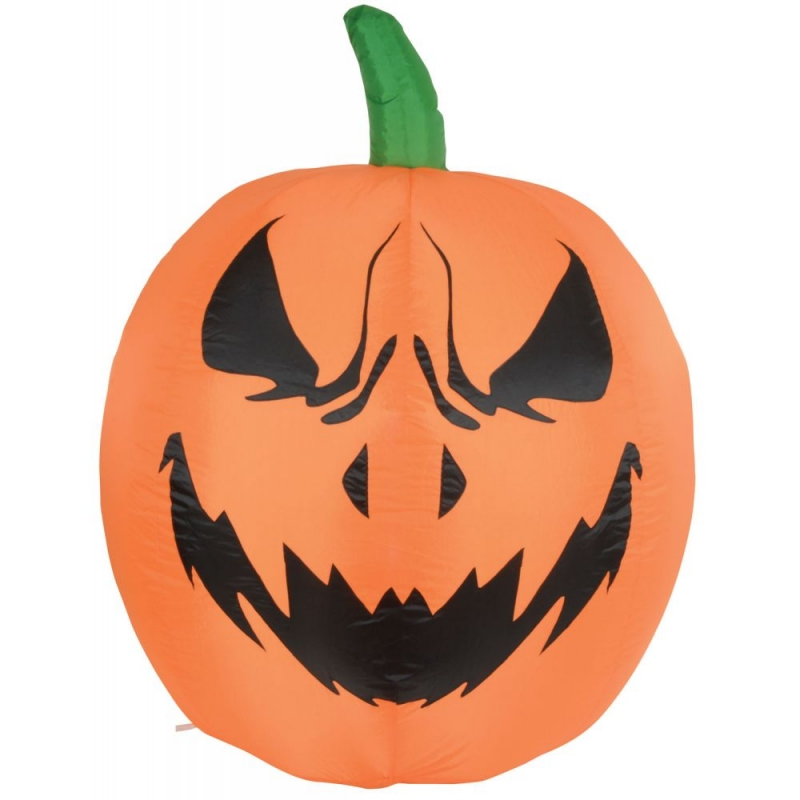4ft Halloween Inflatable Giant Pumpkin Display