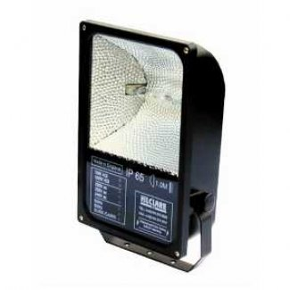 Hilclare 150w SON asymmetrical Low Wattage Discharge Floodlight