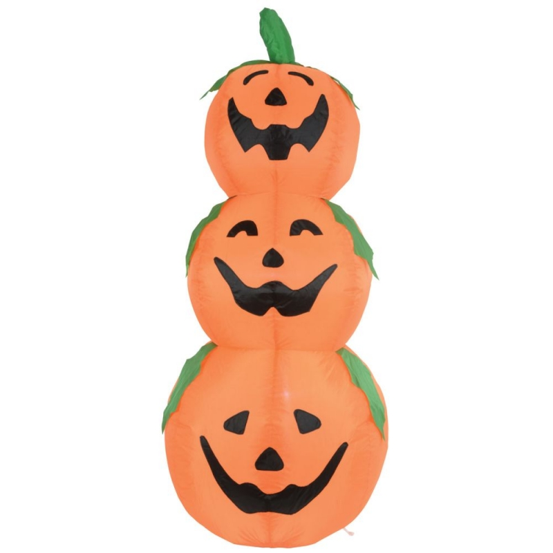 4ft Halloween Inflatable Pumpkins Display