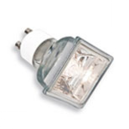 Square 50W Halogen GU10 Lamp Flood