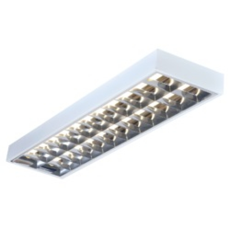 Knightsbridge SURF258HF 2 x 58w T8 Surface Mounted Florescent Fitting