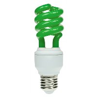 Spiral Coloured Energy Saving Light Bulbs