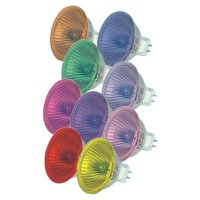 Coloured Halogen Light Bulbs